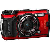 Компактный/подводный фотоаппарат Olympus Tough TG-6 (Red)