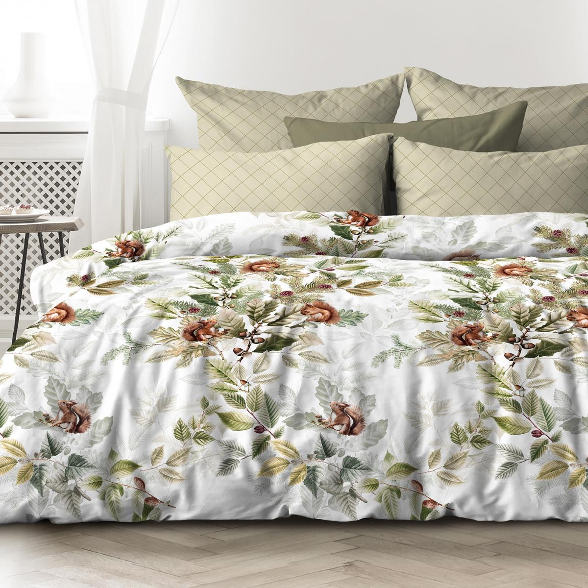 Любимый дом Комплект постельного белья   Белочки, 2 спальный евро
