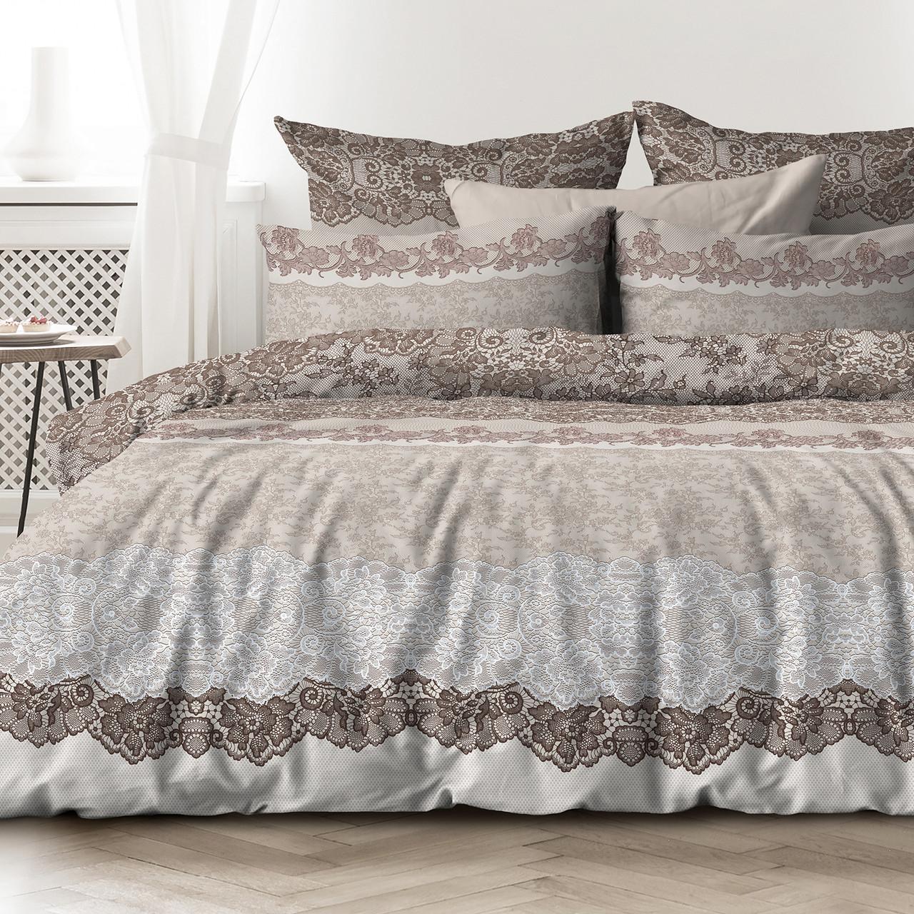 Любимый дом Комплект постельного белья Лессаж, 2 спальный евро