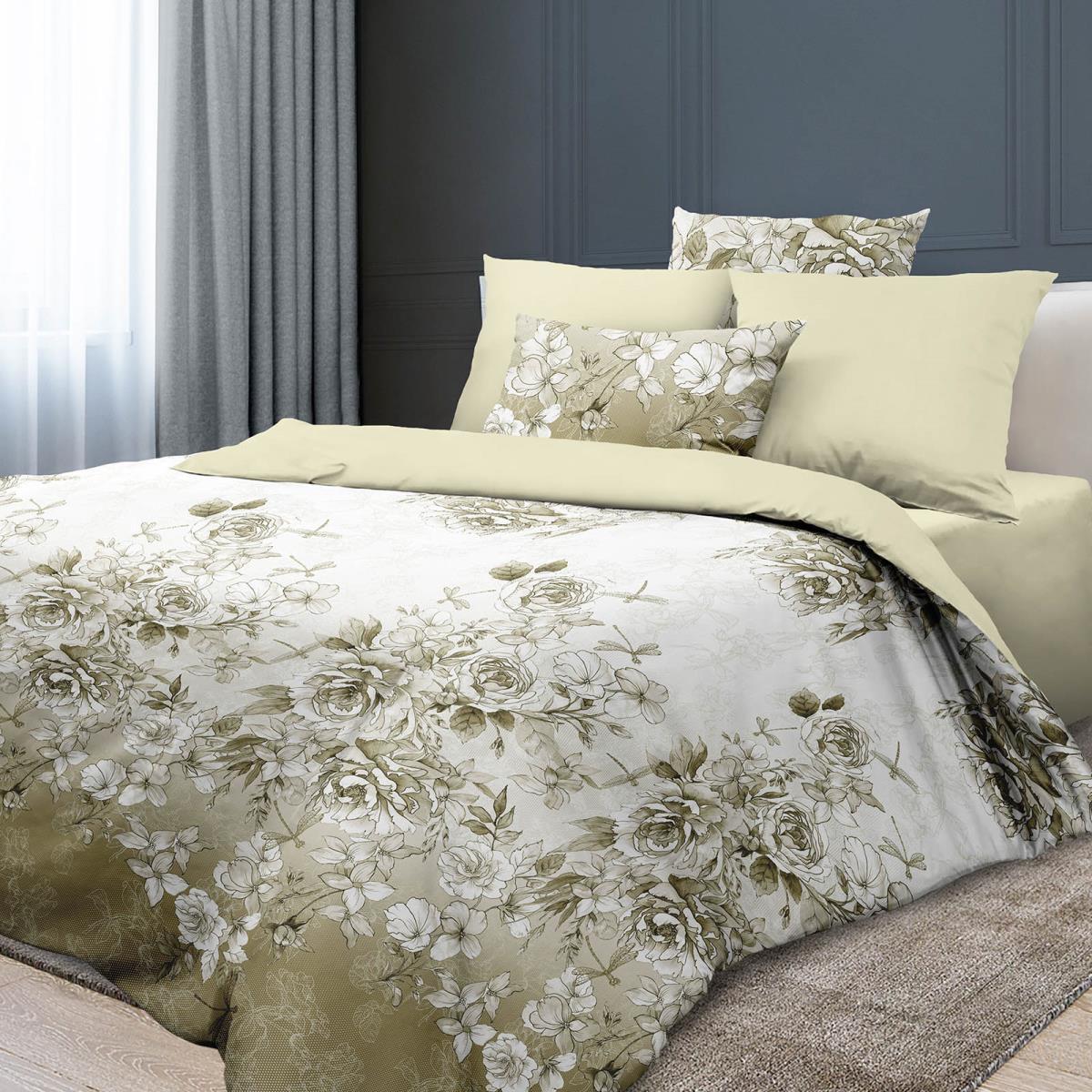 Любимый дом Комплект постельного белья Витторио, 2 спальный евро