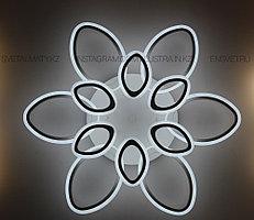 Современная LED люстра с пультом 3 режима 6+6