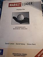 Книга на английском бизнес Market Leader Practice File с диском новая