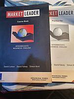 Книги на английском бизнес Market Leader + Practice File (идут с диском)