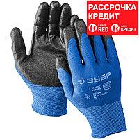 ЗУБР L, перчатки маслобензостойкие тонкие ПН-13 11276-L_z01 Профессионал