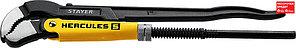STAYER №1, изогнутые губки, ключ трубный HERCULES-S 27311-1_z01 Professional