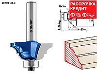 ЗУБР 33.3 x 13 мм, радиус 5 мм, фреза кромочная калевочная №4 28705-33.3 Профессионал