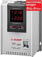 ЗУБР 220 В, однофазный, релейный, автоматический стабилизатор напряжения 59385-5 Профессионал