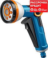 GRINDA 8 режимов, курок спереди, двухкомпонентный с регулятором напора, пистолет поливочный X-8 8-427145_z02