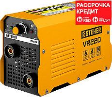 STEHER 220 А, ММА, сварочный аппарат инверторный VR-220