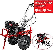 ЗУБР 212 см3, мотоблок бензиновый с ВОМ МТШ-500 Мастер