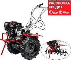 ЗУБР 270 см3, мотоблок бензиновый с ВОМ МТШ-600 Мастер