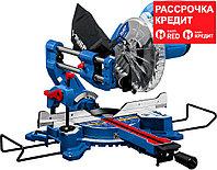 ЗУБР 1800 Вт, 216х30 мм, пила торцовочная с протяжкой ППТ-216-П Профессионал