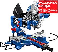 ЗУБР 2000 Вт, 255х30 мм, пила торцовочная с протяжкой ППТ-255-П Профессионал
