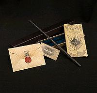 Набор Волшебная палочка Сириуса Блэка + Письмо из Хогвартса + Карта Мародеров + Билет на платформу 9 и 3/4