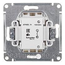 Atlas Design выключатель 1- клавишный МЕХАНИЗМ, скрытая установка бежевый, фото 3