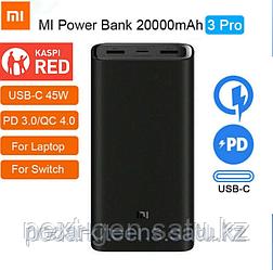 Xiaomi Mi Power Bank 20000mAh 3 Pro 45W