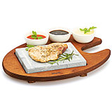 Hot Stone Grill Bisetti 99050 мыльный камень гриль для дома, кафе, бара, ресторана, фото 2