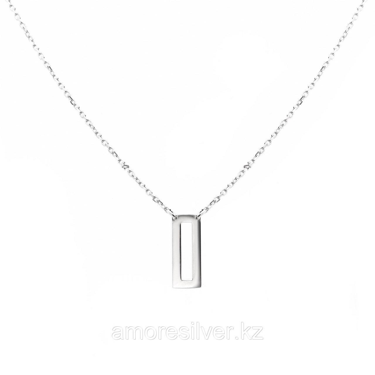 Колье TEOSA серебро с родием, без вставок, фантазия 901040224