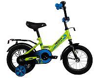 """Велосипед NOVATRACK 12"""" FOREST зеленый, сталь, тормоз нож, крылья, багажник, полная защ.цепи, фото 1"""