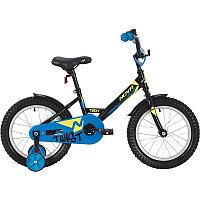 """Велосипед NOVATRACK 12"""" TWIST чёрный, тормоз нож., корот.крылья, полная защита цепи"""