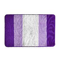 Коврик SHAHINTEX РР MIX 4K (60*100 см, фиолетовый)