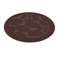 Коврик для ванной комнаты SHAHINTEX шоколадный (90*90 см)
