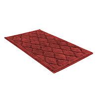 Универсальный хлопковый коврик SHAHINTEX BAMBOO LUX (50*80см) кирпичный