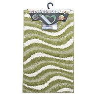 Набор ковриков CORFU 50*80+50*40 зеленый D