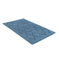 Универсальный хлопковый коврик SHAHINTEX BAMBOO LUX (60*100см) голубой