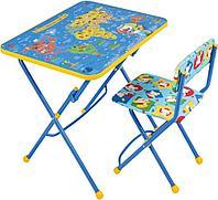Комплект КУ1 (стол+стул мягкий)
