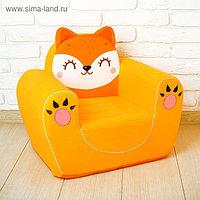 Мягкая игрушка-кресло «Лиса»