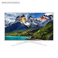 "Телевизор Samsung UE43N5510AU 43"", 1920x1080, DVB-T2/S2, 3xHDMI, 2xUSB, SmartTV, белый"