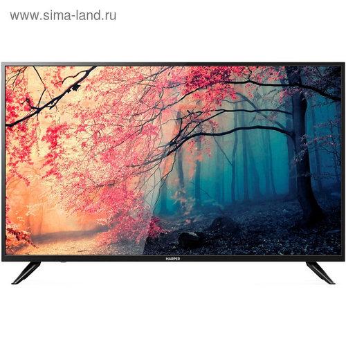 "Телевизор Harper 50U750TS 50"", 3840x2160, DVB-C/T2/S2, 3xHDMI, 2xUSB, SmartTV, черный"
