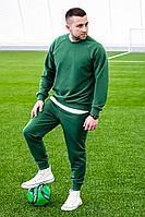Мужской осенний трикотажный зеленый спортивный большого размера спортивный костюм GO M3007/25-02.176-182 44р.