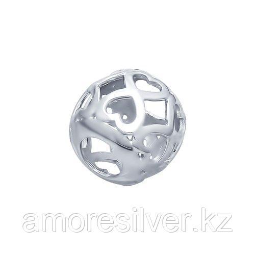 Подвеска SOKOLOV серебро с родием, без вставок, love 94031886