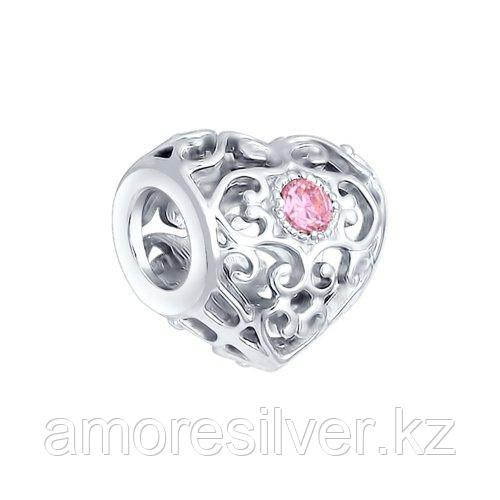 Подвеска SOKOLOV серебро с родием, фианит , символы 94031784