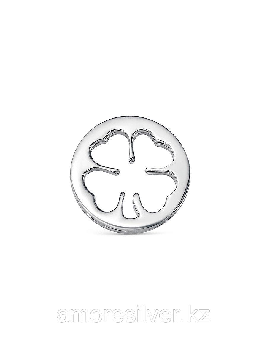 Подвеска TEOSA серебро с родием, без вставок П600-1427