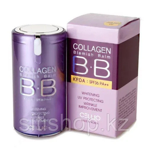 Cellio Collagen Color Control CC spf36 - CC крем от морщин