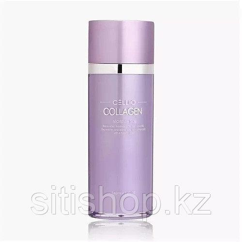 Cellio collagen moisture skin - Тоник с увлажняющим и омолаживающим эффектом