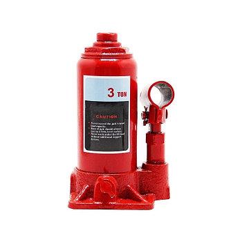 Домкрат гидравлический 3 тонн красный