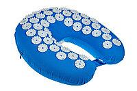 Подушка дорожная акупунктурная «НИРВАНА», синий
