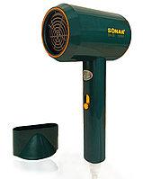 Фен для волос с 2 режимами скорости 2 режима температуры 1 насадка Sonar SN-36 1500W зеленый