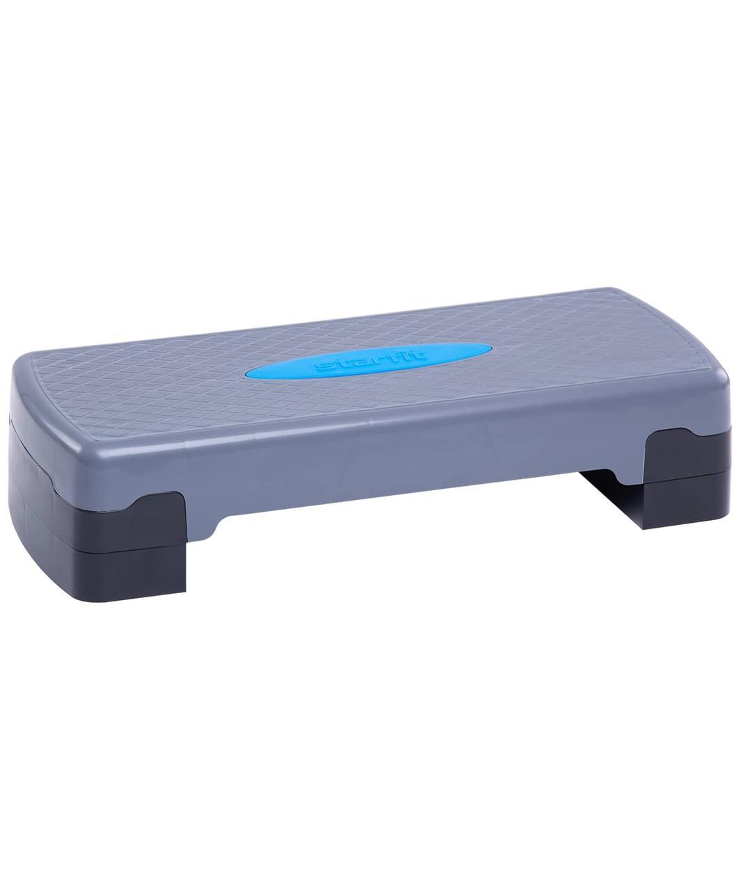 Степ-платформа SP-103 67,5х28,5х15 см, 2-уровневая Starfit