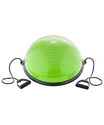"""Полусфера """"BOSU"""" GB-501 с эспандерами, с насосом, зеленый Starfit"""