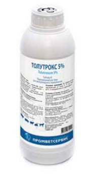 Толутрокс 5% (250 мл) Антипротозойные препарат