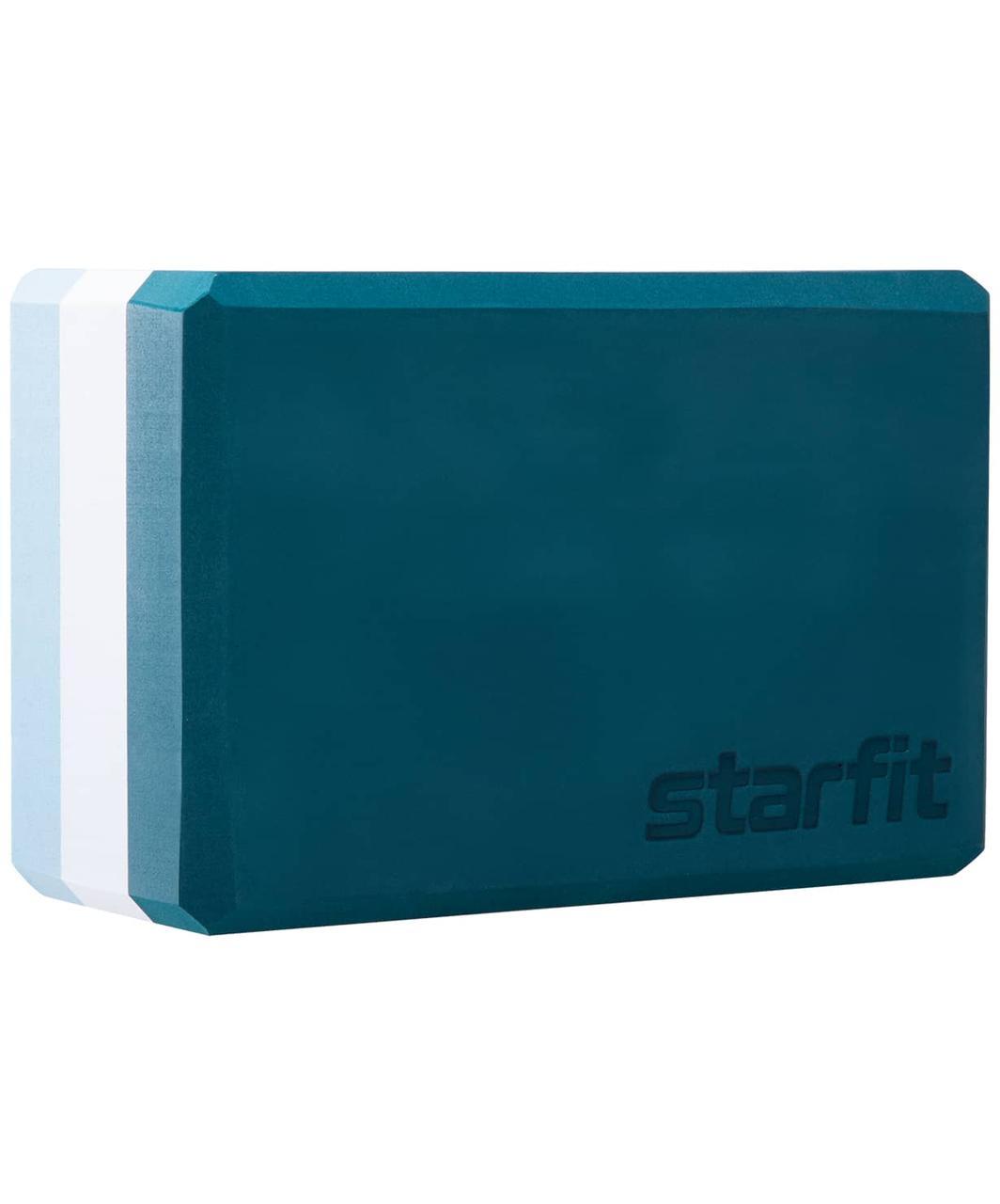 Блок для йоги YB-201 EVA, 22,8х15,2х10 см, 350 гр,  Starfit