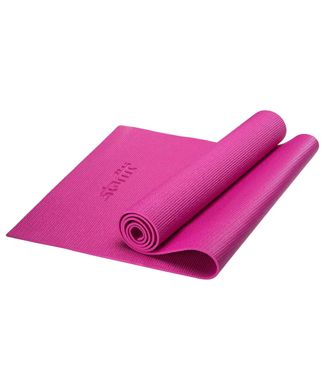 Коврик для йоги FM-101, PVC, 173x61x0,5 см, Starfit