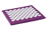 Коврик акупунктурный массажный «НИРВАНА» для стоп, 35x35x2 см, фиолетовый