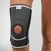 Наколенник неопреновый с открытой коленной чашечкой и спиральными ребрами жесткости