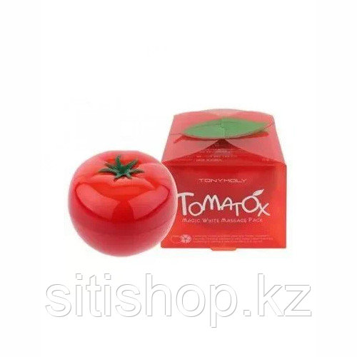 Tony Moly Tomatox Magic White Massage Pack - Отбеливающая томатная маска (80 гр)